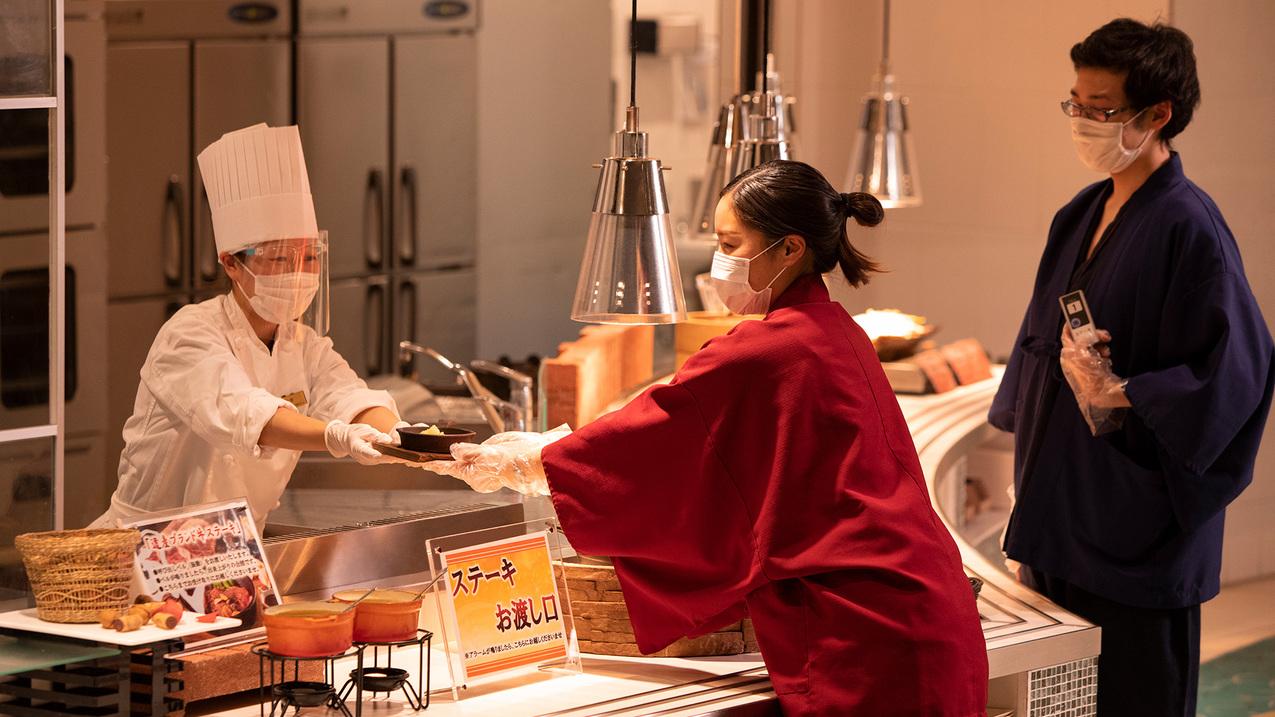 【冬春旅セール】洞爺湖を一望できるレストランで季節の美味旬旅<レストラン波の音>