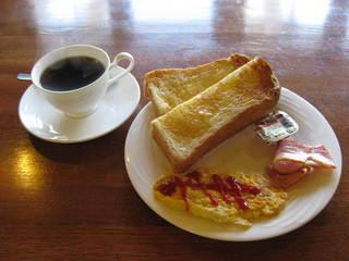 【朝食】にごり湯&手作りパンの朝食