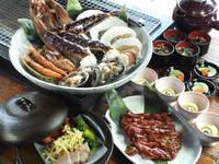 【夕食付】海鮮&ジンギスカン炙り夕食付プラン【ノアの箱舟 ベッセル特別コース】