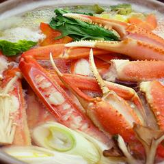 【さき楽30で1080円お得】蟹刺・茹蟹・焼蟹・蟹すき≪平日・日曜限定≫かに2杯相当使用!かにづくし