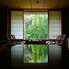 【5万坪の森林大庭園を望む】広々ゆったり庭の棟客室へ無料アップグレード<ご夕食はお部屋食>
