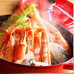 《Riccaプレミアムディナー》地物松葉蟹1杯と但馬牛熟成肉【Comfort Room×Ricca】