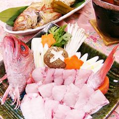 【能登の味覚DX】 幻の魚『のどぐろ』会席 ★しゃぶしゃぶ&選べる料理法♪