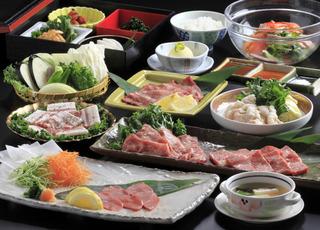 【夕食グレードアップ!!】料理長オススメの特別コースに舌つづみ♪