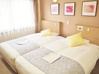 【カップルにおすすめ】ツインベッドをくっつけて(*^^*)ハリウッドツイン8500円〜→5000円〜