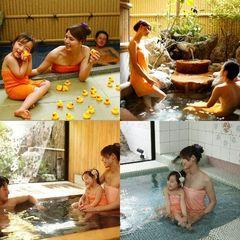 ★朝夕個室食事処★板長の日替わり会席×4湯貸切風呂無料×女性色浴衣付
