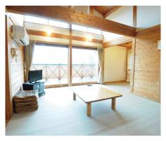 ◆ロッジ平屋(居間)
