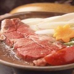 《ロブスターの塩焼き》&《あわび踊り焼き》&《知多牛ステーキ》いち豆会席