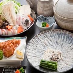 【さき楽】◆欲張り贅沢な知多牛のステーキ付きふぐ会席プランが早期予約で10%OFF♪嬉しい特典付き◆