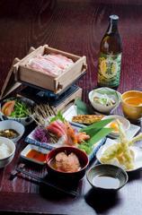 【飲み放題・2食付】種子島の芋焼酎を120分飲み比べ!夕・朝食付宿泊プラン《はまだの湯無料入浴券付》