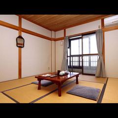 山側6畳和室(2〜3名)【Wi-Fi可・禁煙】