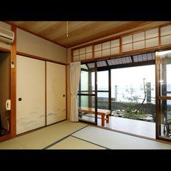 海側8畳和室(3〜4名)【Wi-Fi可・禁煙】