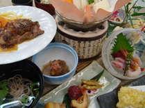 【復活!!!】夕食ワンランクUP!アルプス牛付き☆金太郎の里☆彡気軽に出掛ける温泉旅 2食付!!