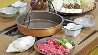 SASAYAのスタンダード★人気の但馬牛120gすき焼き&温泉プラン
