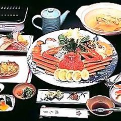 ●蟹2.5杯●やっぱりカニ刺し♪焼き蟹・カニ鍋も付いた★蟹スタンダード★イチオシ!