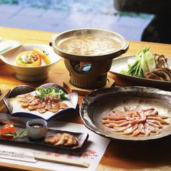 【定番】キジ・鴨・川魚…地元ならではのお食事と高月温泉を愉しむ