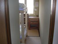4畳半の和室、2人部屋