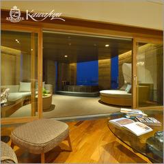 【王様のビュッフェ】■極上空間が誕生■プレジデンシャルスパ・スイートルームご宿泊