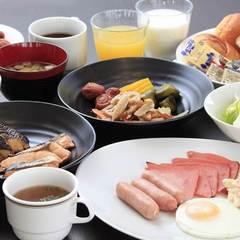 【朝食付】朝の活力!朝食付きプラン