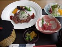 【ビジネスマン応援!2食付&駐車無料】夕食は和ステーキ膳!朝食は和洋をチョイス!大浴場でリフレッシュ
