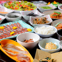 【一泊朝食】福井の名産を朝から堪能!ビュッフェスタイルの和朝食<オススメは鯖の「へしこ」!>