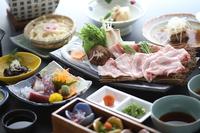 秋冬季限定!香川県産豚のしゃぶしゃぶ会席