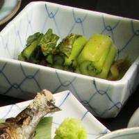 【11/25〜12/17期間限定】《初樽》自家製野沢菜漬をお土産に♪竹屋の味をご自宅でも【1泊2食】