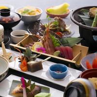 【二食付】月替わり旬会席!厳選された食材で彩る旅館ならではの過ごし方♪