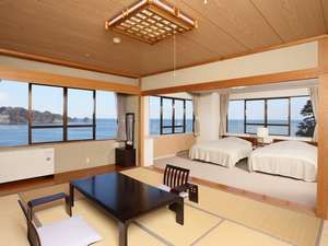 和洋特別室【和室10畳+ツイン/禁煙/バス・トイレ付】
