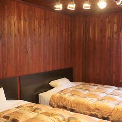 【禁煙】ダブルベッドでのんびり♪ツインベッドルーム