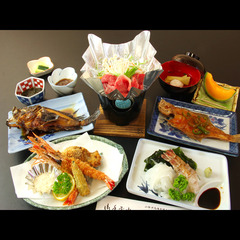 【¥9720〜リーズナブル♪】日本海の食を味わう!海鮮コース★現金特価