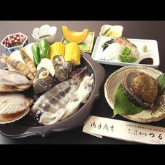 新鮮な魚介は豪快に焼いてナンボ!!迫力満点海賊焼きプラン☆現金特価