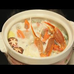 リーズナブル【松葉蟹すきコース】つるだでごゆっくり蟹を堪能下さい★