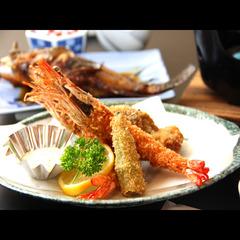 【平日◆9,900円(税込)!リーズナブル】つるだ旦那厳選★大満足海鮮コース!1泊2食付