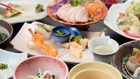 【夕食のみ】早朝出発の方にオススメ♪夕食は加賀の伝統を活かした<創作会席8品>をご用意!