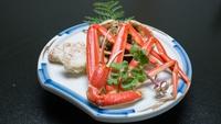 ■五感にごちそう■【ずわい蟹+能登牛ステーキ】蟹もお肉も両方食べたい方必見!欲張りプラン