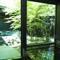別館平屋【和洋室】露天(本格五右衛門風呂)・内湯(切石風呂)