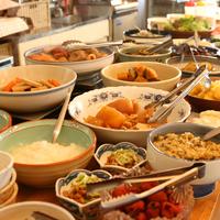 【朝食付】 自家栽培のお野菜を使った 朝食付プラン!