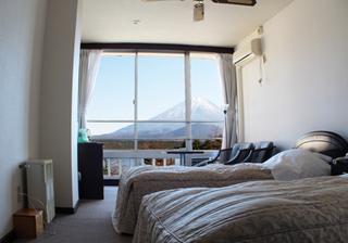 洋室ツイン *富士山が見えるお部屋*