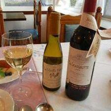 【お肉もお魚も豪華欲張りプラン】2名にボルドーワイン1本付創作フレンチ