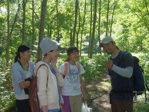 ♪森のハイキング(半日)&フルコースディナー♪