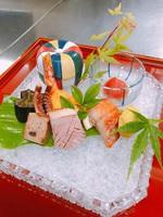 [楽天限定]ポイント2倍!!伊勢海老・アワビ・サザエ・地魚刺身盛り合わせ付伊豆の宝会席プラン