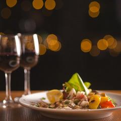 【楽天スーパーSALE】5%OFF旬な地元食材★カジュアルペアプランイタリアンコース♪
