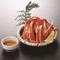 【山陰の冬は旬のズワイガニ】カニ料理2品(蟹酢、焼きガニ)付会席プラン
