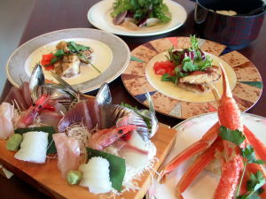 ☆伊豆の魚貝たっぷりボリュームに大満足♪1泊2食付プラン「現金決済特典」
