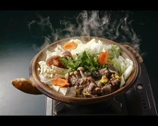 ■当店自慢の名物「安心院すっぽん鍋」を個室で堪能するプラン