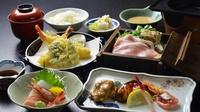 【浜焼き鯖+日替わり会席】福井名物!脂の乗った鯖を丸ごと豪快に1本焼き