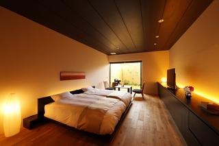 約2.3畳の大きなお風呂!露天風呂付客室