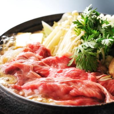 〇期間限定 茨城の誇るブランド牛「常陸牛」すき焼きプラン