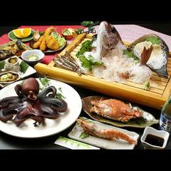 【スタンダード】海を知りつくした旦那が豪快に調理!まる甚の島料理を満喫 ♪【名鉄海上観光船割引】